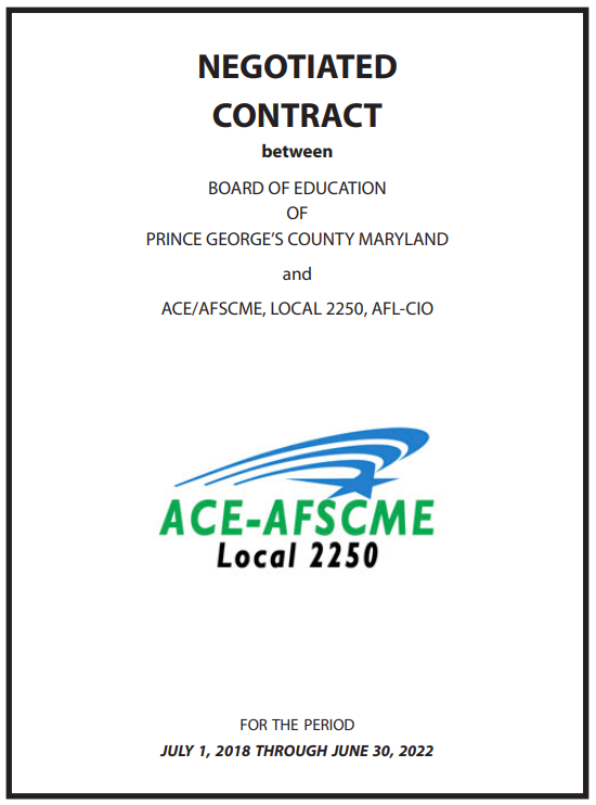 Photo of contract cover